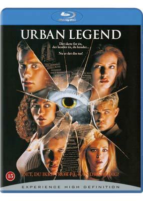 Urban  Legend (Blu-ray) (BD) - Klik her for at se billedet i stor størrelse.