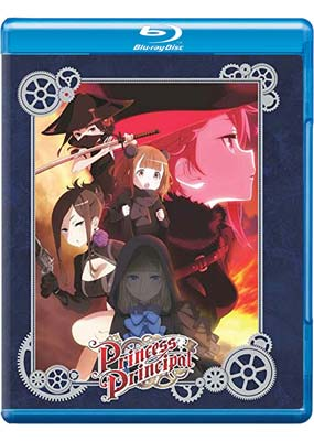 Princess Principal: Complete Collection (Collector's Edition) (Blu-ray) (BD) - Klik her for at se billedet i stor størrelse.