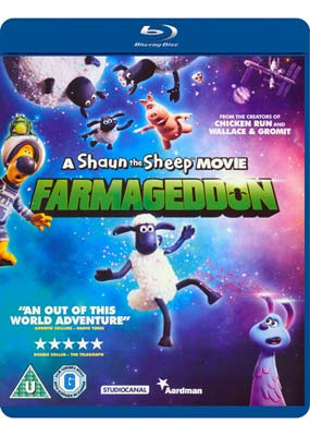 Shaun the Sheep Movie, A: Farmageddon (Blu-ray) (BD) - Klik her for at se billedet i stor størrelse.