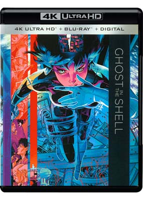 Ghost in the Shell - The Movie (4K UHD) (UHD) - Klik her for at se billedet i stor størrelse.