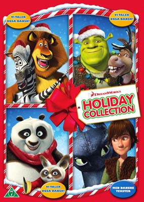 Dreamworks Holiday Collection  (DVD) - Klik her for at se billedet i stor størrelse.