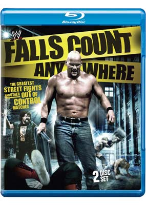 WWE: Falls Count Anywhere Matches (Blu-ray) (BD) - Klik her for at se billedet i stor st�rrelse.