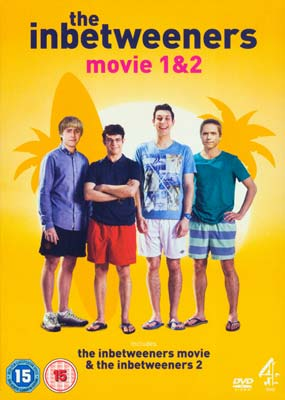 Inbetweeners, The: Movie 1 &  2 (2-pack) (DVD) - Klik her for at se billedet i stor størrelse.