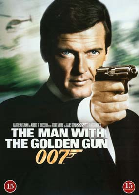 Man with the Golden Gun,   The  (DVD) - Klik her for at se billedet i stor størrelse.