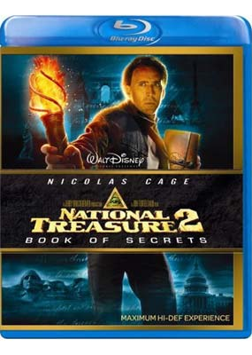 National Treasure 2: Book of Secrets (Blu-ray) (BD) - Klik her for at se billedet i stor st�rrelse.