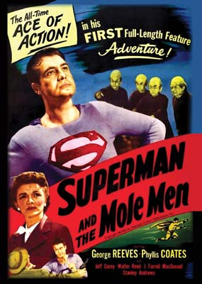 Superman and the Mole-Men  (DVD) - Klik her for at se billedet i stor størrelse.