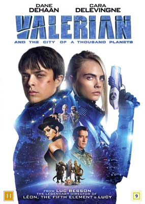 Valerian and the City of a Thousand Planets  (DVD) - Klik her for at se billedet i stor størrelse.