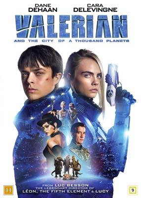 Valerian and the City of a Thousand Planets  (DVD) - Klik her for at se billedet i stor størrelse.