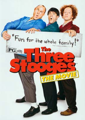 Three Stooges, The (The Movie)  (DVD) - Klik her for at se billedet i stor st�rrelse.