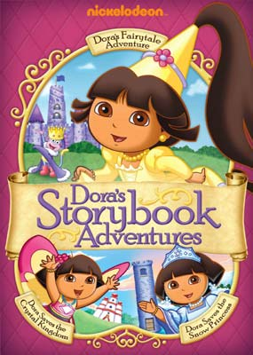 Dora the Explorer: Dora's Storybook Adventures (3-Disc)  (DVD) - Klik her for at se billedet i stor st�rrelse.