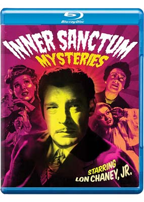 Inner Sanctum Mysteries: The Complete Movie Collection (Blu-ray) (BD) - Klik her for at se billedet i stor størrelse.