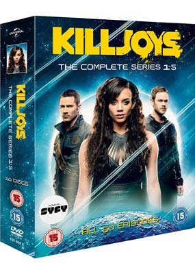 Killjoys:  The Complete Series (10-disc) (DVD) - Klik her for at se billedet i stor størrelse.