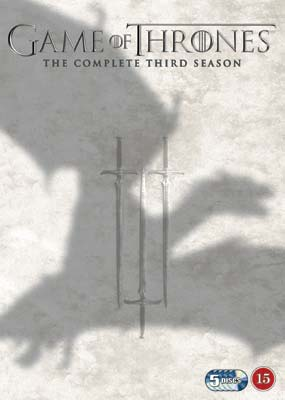 Game of Thrones: Season     3 (5-disc) (DVD) - Klik her for at se billedet i stor størrelse.
