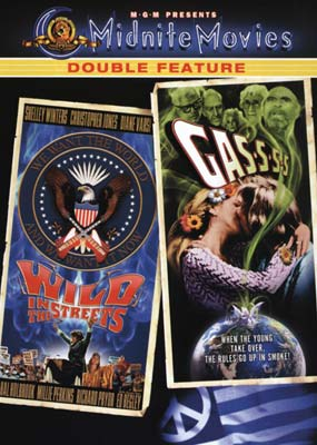 Wild in the Streets / Gas-s-s-s (Midnite Movies) (DVD) - Klik her for at se billedet i stor st�rrelse.