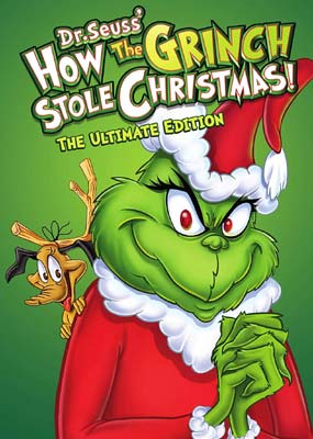 How the Grinch Stole Christmas!  (DVD) - Klik her for at se billedet i stor størrelse.