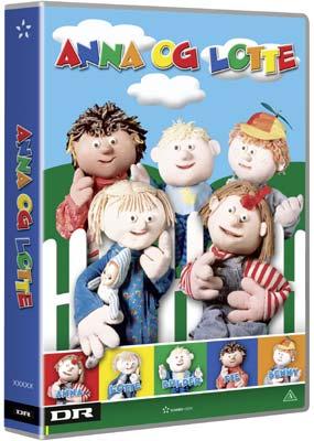 Anna og Lotte og alle vennerne (4-disc) (DVD) - Klik her for at se billedet i stor størrelse.