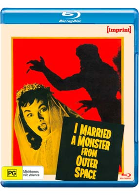 I Married a Monster from Outer Space (Blu-ray) (BD) - Klik her for at se billedet i stor størrelse.