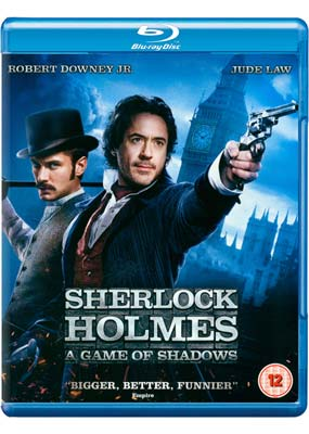 Sherlock  Holmes: A Game of  Shadows (Blu-ray & DVD) (BD) - Klik her for at se billedet i stor st�rrelse.