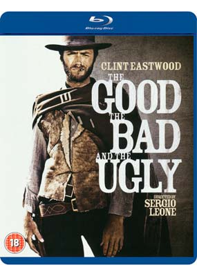 Good, the Bad and the  Ugly, The  (Remastered) (Blu-ray) (BD) - Klik her for at se billedet i stor størrelse.