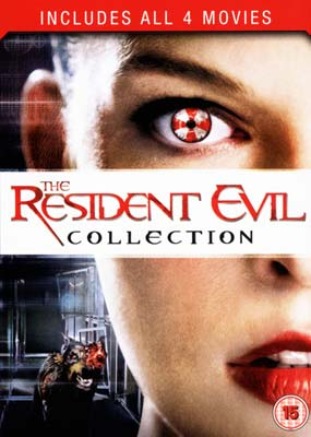 Resident Evil Collection, The (4 film) (DVD) - Klik her for at se billedet i stor st�rrelse.
