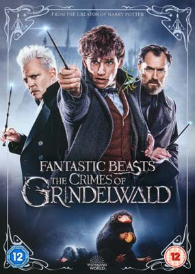 Fantastic Beasts: The Crimes of Grindelwald   (DVD) - Klik her for at se billedet i stor størrelse.