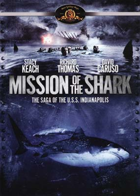 Mission of the Shark: The Saga of the U.S.S. Indianapolis  (DVD) - Klik her for at se billedet i stor størrelse.