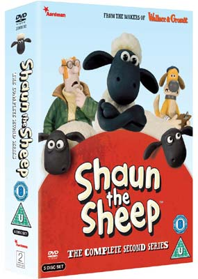 Shaun the Sheep: Complete Series 2 (5-disc) (DVD) - Klik her for at se billedet i stor størrelse.