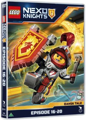 LEGO Nexo Knights: Episode 16-20  (DVD) - Klik her for at se billedet i stor størrelse.