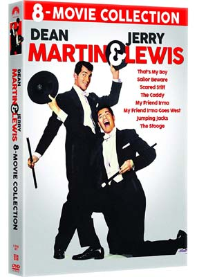 Martin and Lewis 8-Movie Collection  (DVD) - Klik her for at se billedet i stor størrelse.