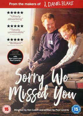 Sorry We Missed You  (DVD) - Klik her for at se billedet i stor størrelse.