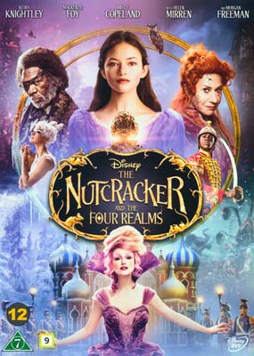 Nutcracker and the Four Realms, The  (DVD) - Klik her for at se billedet i stor størrelse.