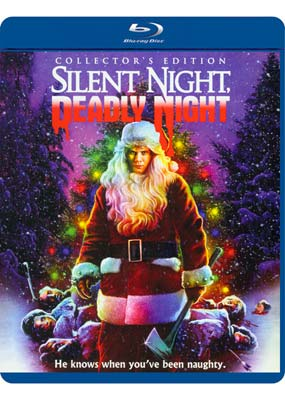 Silent Night, Deadly Night: Collector's Edition (Blu-ray) (BD) - Klik her for at se billedet i stor størrelse.