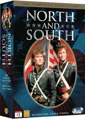 North and South: The Complete   Collection (8-disc) (DVD) - Klik her for at se billedet i stor størrelse.