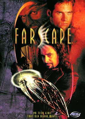 Farscape  #4: PK Tech Girl / That Old Black Magic  (DVD) - Klik her for at se billedet i stor st�rrelse.