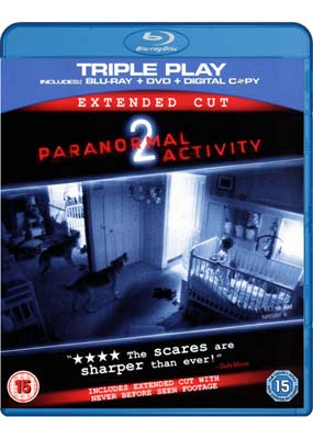 Paranormal Activity    2: Extended Cut (Blu-ray & DVD) (BD) - Klik her for at se billedet i stor st�rrelse.
