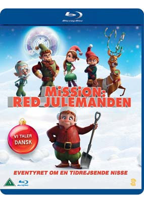 Mission: Red Julemanden (Blu-ray) (BD) - Klik her for at se billedet i stor størrelse.