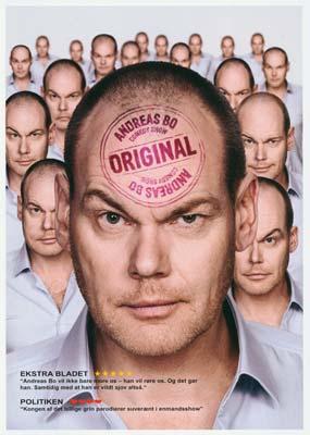 Andreas Bo: Original (2015)  (DVD) - Klik her for at se billedet i stor størrelse.
