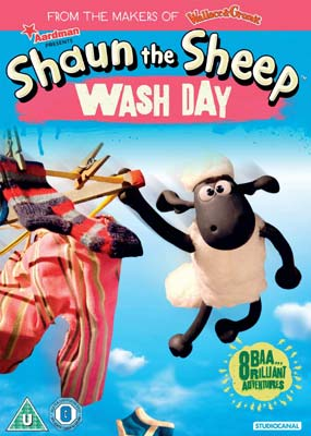 Shaun the Sheep: Wash Day  (DVD) - Klik her for at se billedet i stor størrelse.