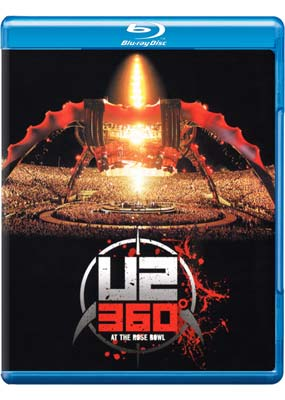 U2: 360� Tour - Live at the Pasadena Rose Bowl  (Blu-ray) (BD) - Klik her for at se billedet i stor st�rrelse.