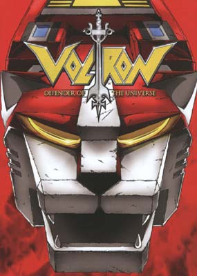 Voltron: Defender of the Universe #4 (3-disc) (DVD) - Klik her for at se billedet i stor st�rrelse.