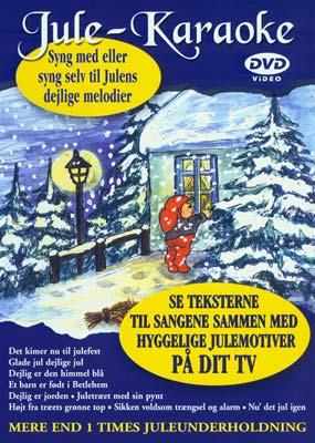 Jule-Karaoke: 9 danske julesange  (DVD) - Klik her for at se billedet i stor størrelse.