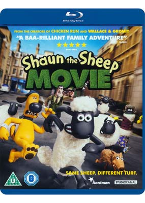 Shaun the Sheep Movie (Blu-ray) (BD) - Klik her for at se billedet i stor størrelse.