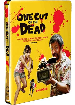 One Cut of the Dead: Steelbook (Blu-ray & DVD) (BD) - Klik her for at se billedet i stor størrelse.