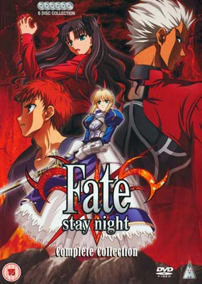 Fate/Stay Night:   Complete Collection (6-disc) (DVD) - Klik her for at se billedet i stor st�rrelse.
