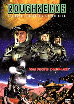 Roughnecks   1: The Pluto Campaign  (DVD) - Klik her for at se billedet i stor st�rrelse.