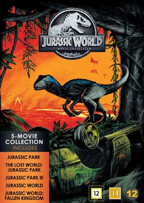 Jurassic World: 5-Movie Collection (5-disc) (DVD) - Klik her for at se billedet i stor størrelse.