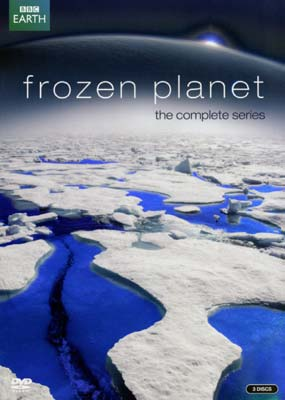 Frozen Planet: The Complete  Series (3-disc) (DVD) - Klik her for at se billedet i stor st�rrelse.