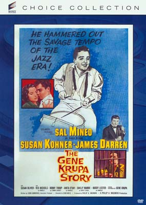 Gene Krupa Story, The (Sony Choice Collection) (DVD) - Klik her for at se billedet i stor størrelse.