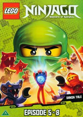 LEGO: Ninjago - Masters of   Spinjitzu, eps.  5-8  (DVD) - Klik her for at se billedet i stor størrelse.