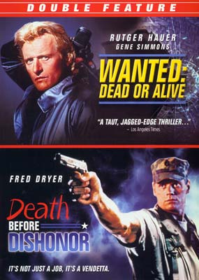 Death Before Dishonor / Wanted: Dead or Alive (2 film) (DVD) - Klik her for at se billedet i stor størrelse.